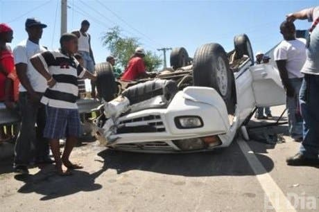 RD, segundo país con más muertes por accidentes de tránsito enproporción a su población