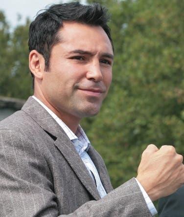 Oscar De la Hoya, ex boxeador que aspira a dirigir los destinos de Estados Unidos.