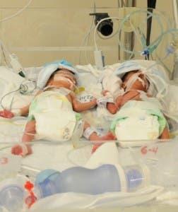 Dos de los recién nacidos.