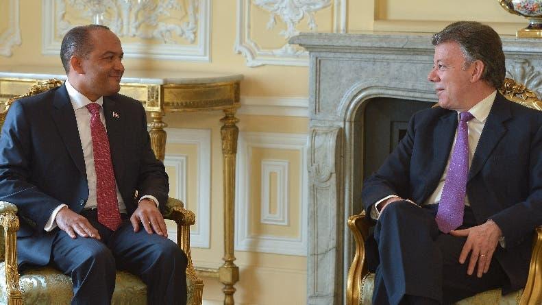 Santos destaca estrecha relación Colombia y RD