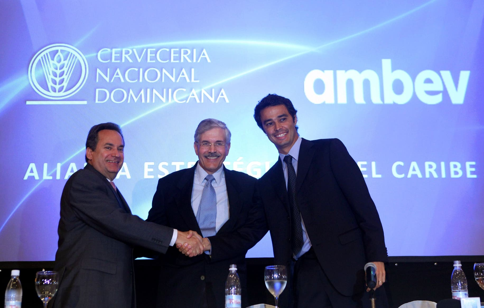 DOMINICAN REP-BRAZIL-ECONOMY-BUSINESS-BREWERY-AMBEV