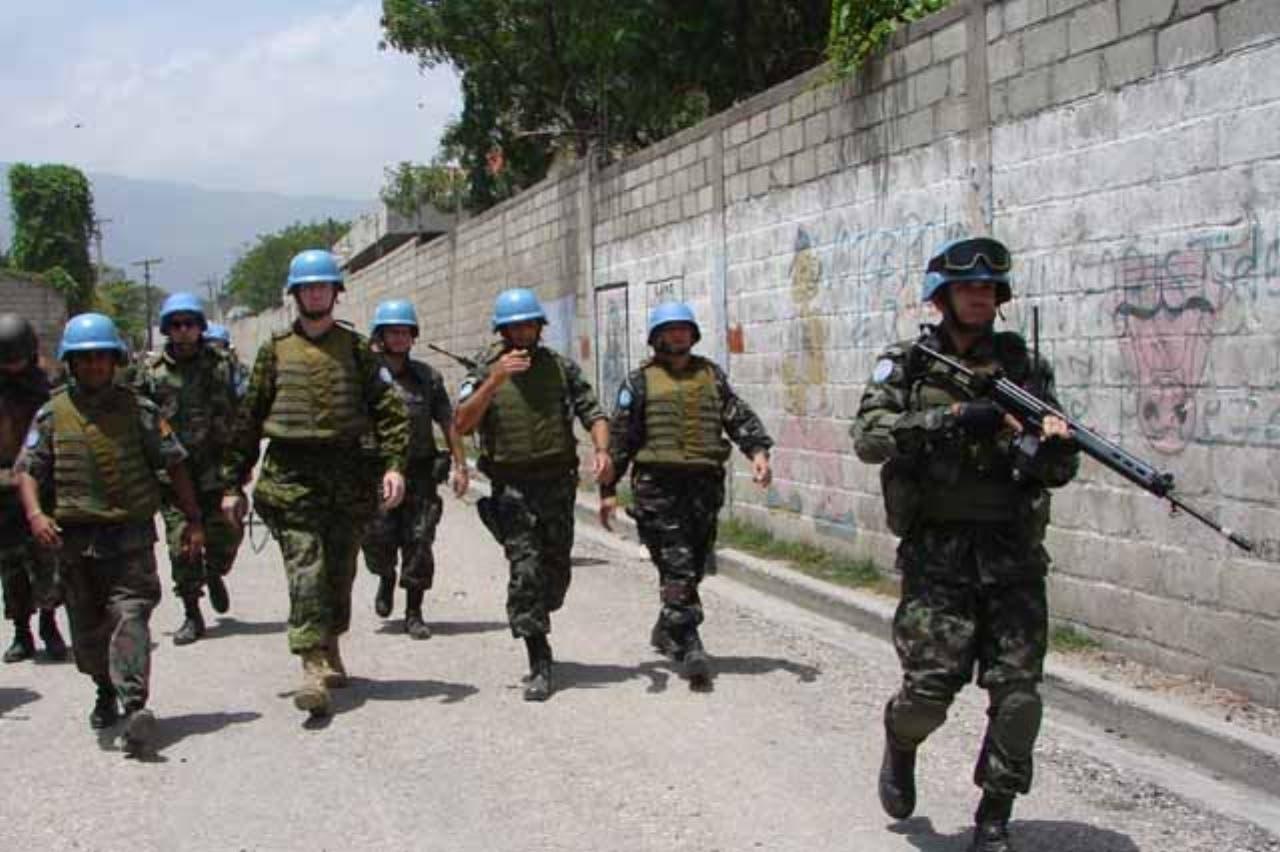 El gobierno haitiano había pedido a la ONU que le permitiera hacerse plenamente cargo de la seguridad.