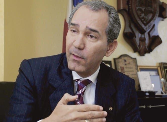 Franklin García Fermín, exrector de la UASD y vicepresidente del PRM.