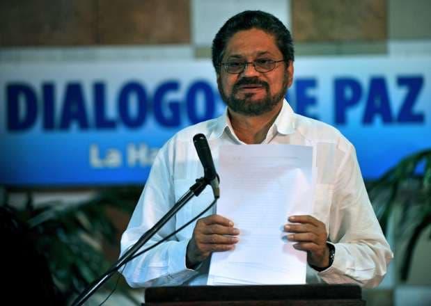 Iván Marquez fue vocero de las FARC en el diálogo con el gobierno colombiano. Foto de archivo.