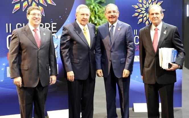 Raúl Castro y Danilo Medina