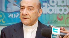 Monseñor Amancio Escapa falleció hoy en su residencia de la orden de Los Carmelitas de los Pies Descalzos, en la calle Fantino Falco, del ensanche Naco.