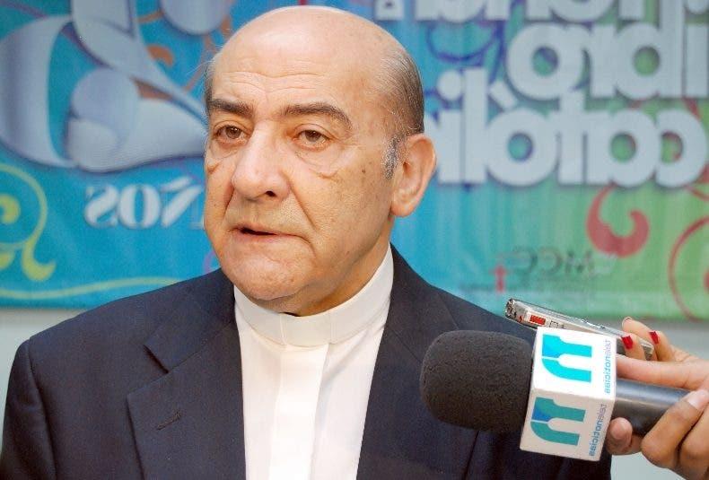 Fallece monseñor Escapa, obispo auxiliar de Santo Domingo