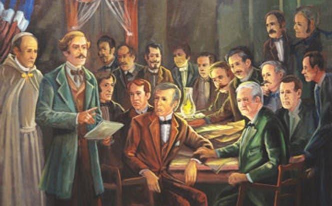 Duarte fundó la Trinitaria para luchar contra la dominación haitiana.