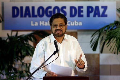 Partido FARC desconoce el paradero de Iván Márquez, su número dos
