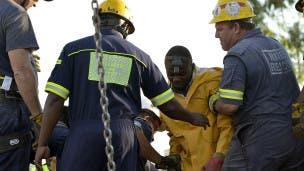 mineros sudafrica