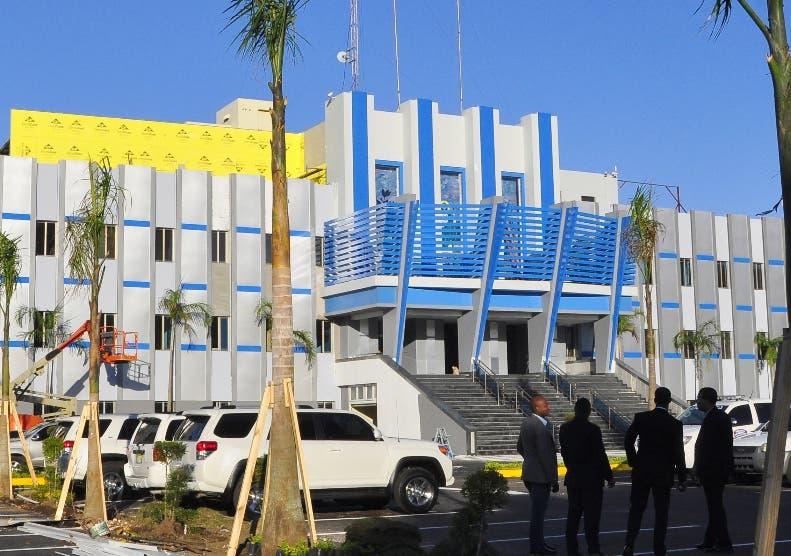 Nueva fachada del Palacio de la Policia Nacional. El Nacional/ Jorge Gonzalez