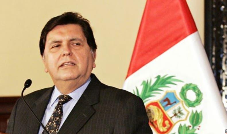 Ex presidente de Perú Alan García. AP
