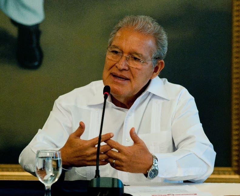 Presidente de El Salvador, Salvador Sánchez Cerén.