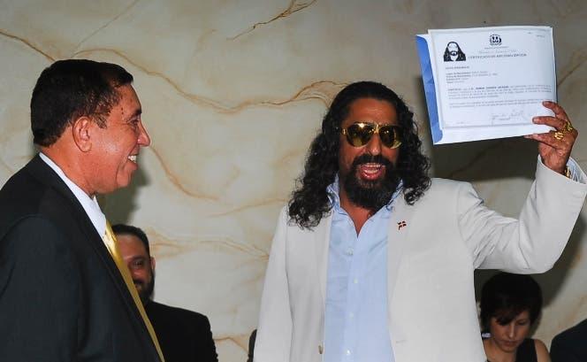 Diego El Cigala ya es ciudadano dominicano