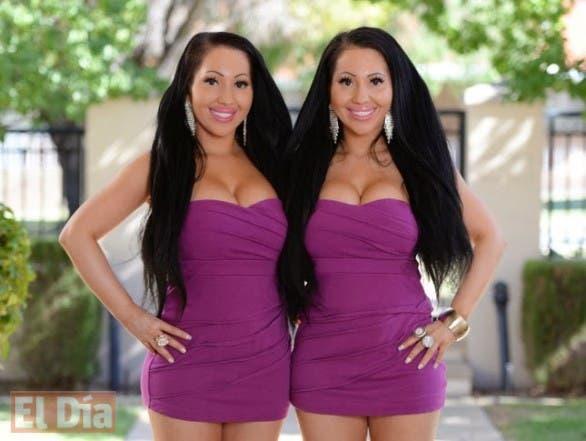 Ana y Lucy, las gemelas.