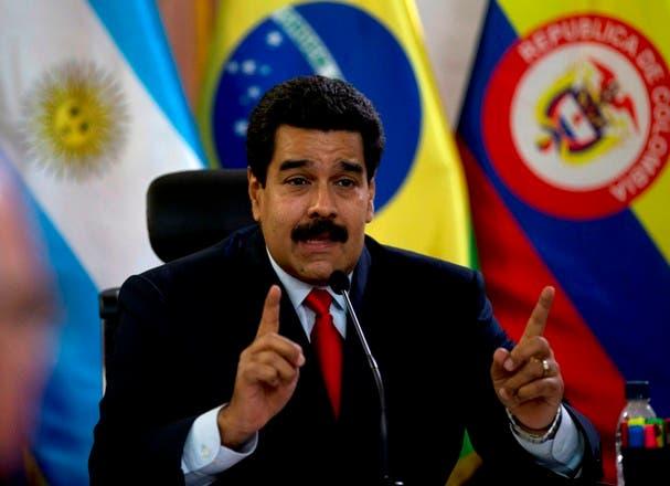 Fuerza Armada venezolana respalda a Nicolás Maduro
