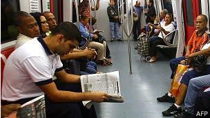 Venezuela: incendio causó apagón en el metro de Caracas