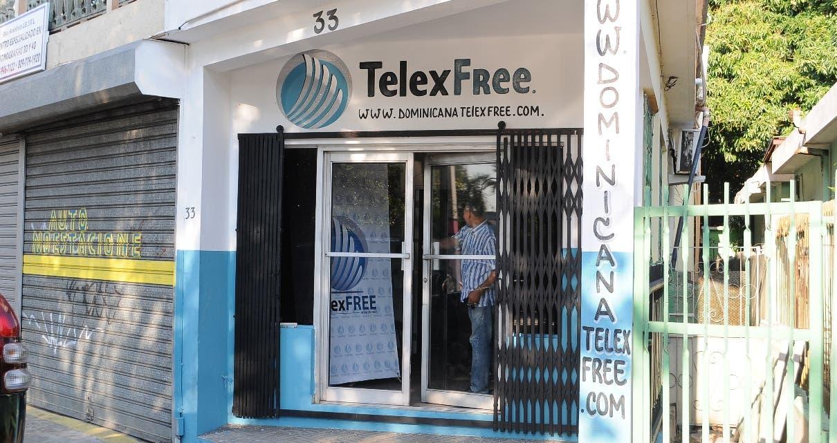 El centro de capacitación para promotores de Telexfree,  antes de ser pintado. Foto:Alberto Calvo