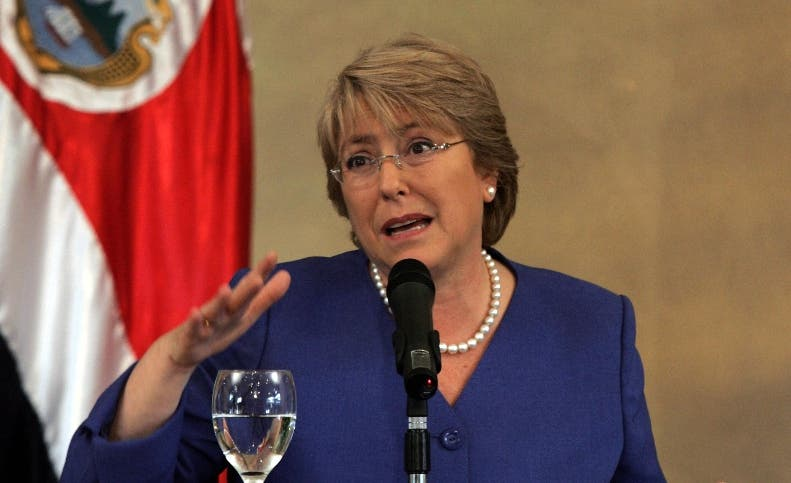 COSTA RICA-CHILE-ARIAS-BACHELET