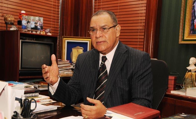 Miguel Franjul, vicepresidente regional para República Dominicana de la Comisión de Libertad de Prensa de la  Sociedad Interamericana de Prensa (SIP).