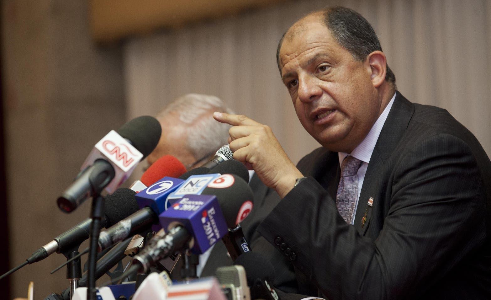 Luis Guillermo Solis, presidente Costa Rica