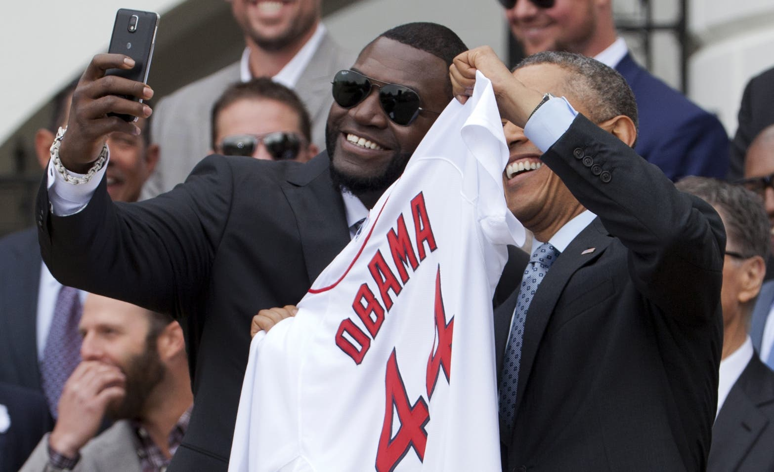 Barack Obama, David Ortiz