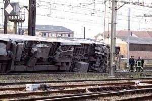Se descarrila un tren en Virginia, EE.UU.