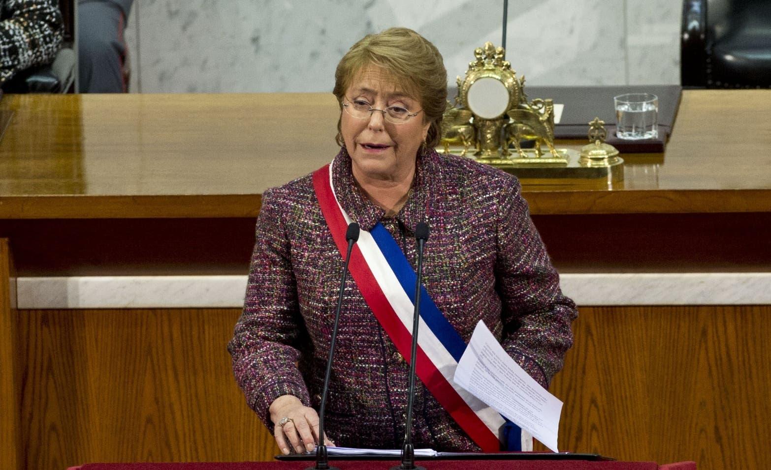 CHILE-POLITICS-BACHELET