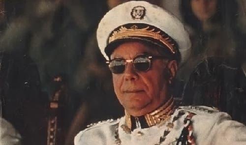 Rafael Trujillo Molina encabezó una cruenta dictadura que se extendió desde 1930 a 1961. Fue ajusticiado el 30 de mayo de 1961.
