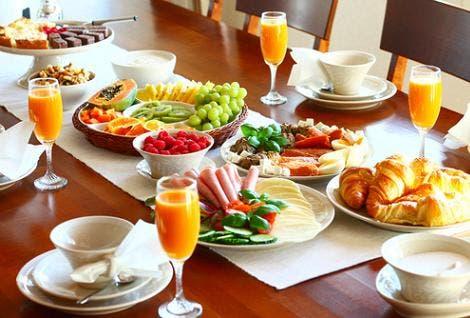 Desayuno de lunes