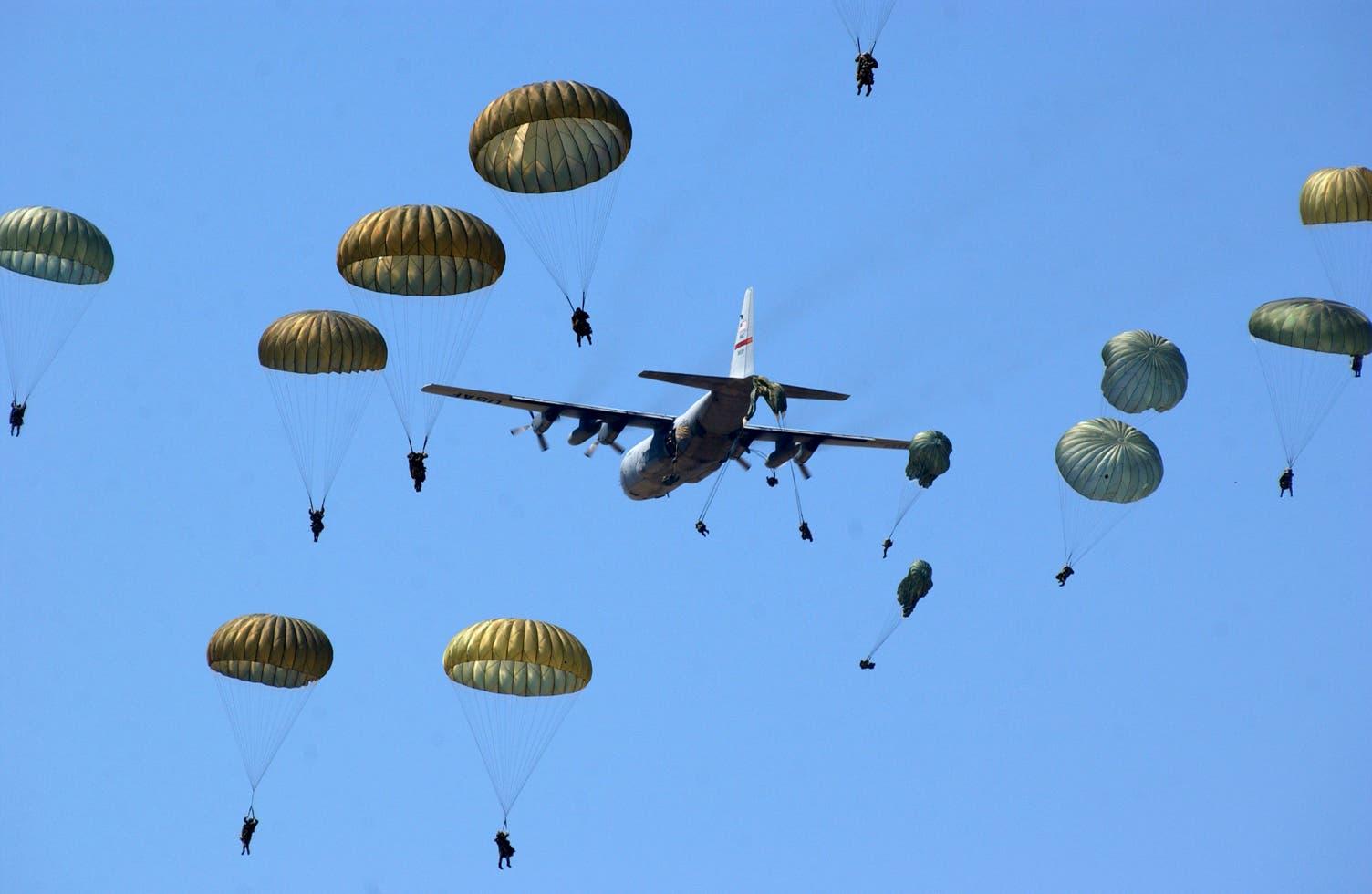 paracaidas peruanos