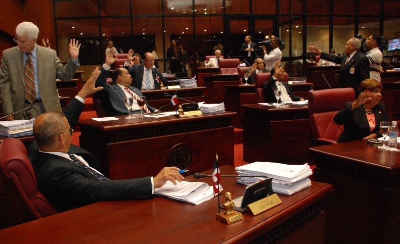 El PLD tiene mayoría absoluta en el Senado.