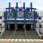 Fachada del palacio de la policia nacional/foto Jose de Leon
