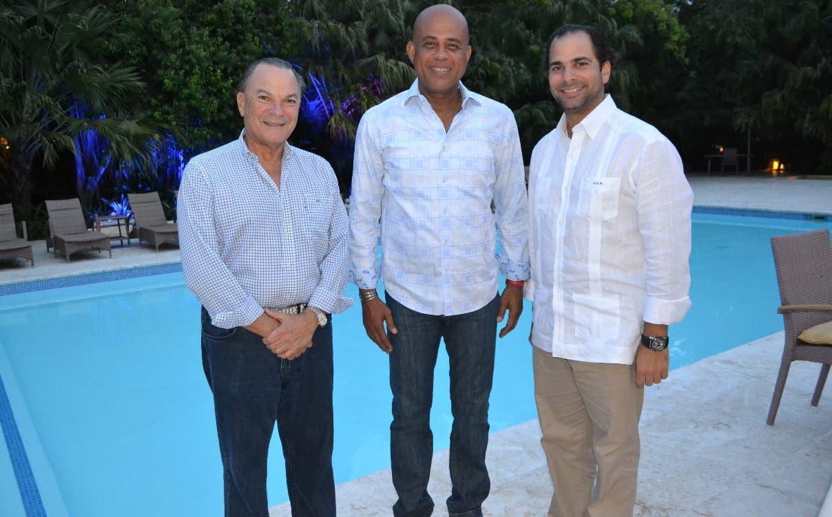 Martelly agradece a Danilo Medina por Ley