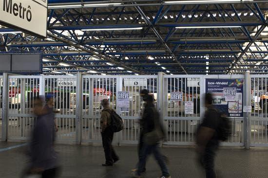 Suspenden huelga en metro de Sao Paulo