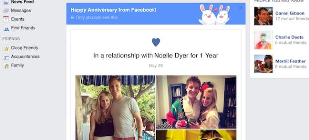 facebook enamorado