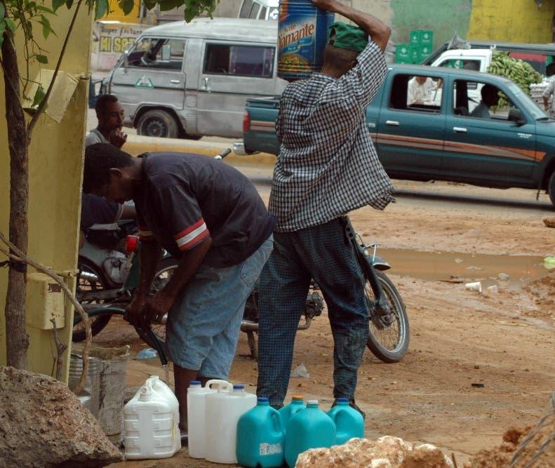 Escases de agua/7-10-07/foto José de León