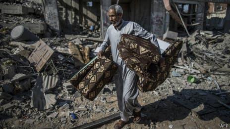 Israel bombardea Gaza en respuesta a tiros de cohetes, tras prolongación de la tregua