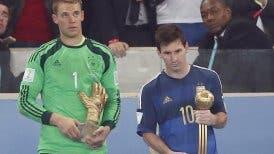 Lionel Messi recibió el Balón de Oro como mejor jugador del Mundial 2014
