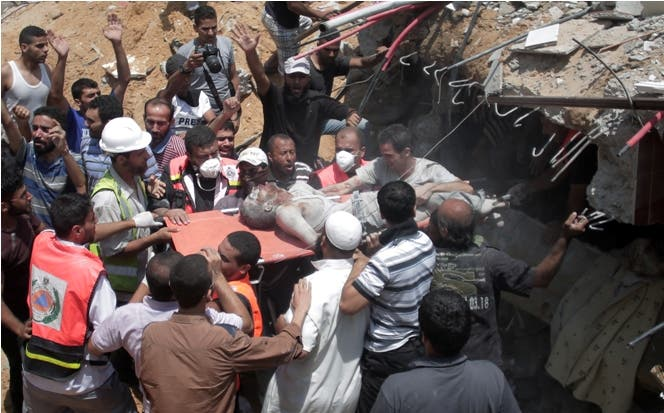 Ejército israelí mata a 530 palestinos en Gaza en dos semanas de ofensiva