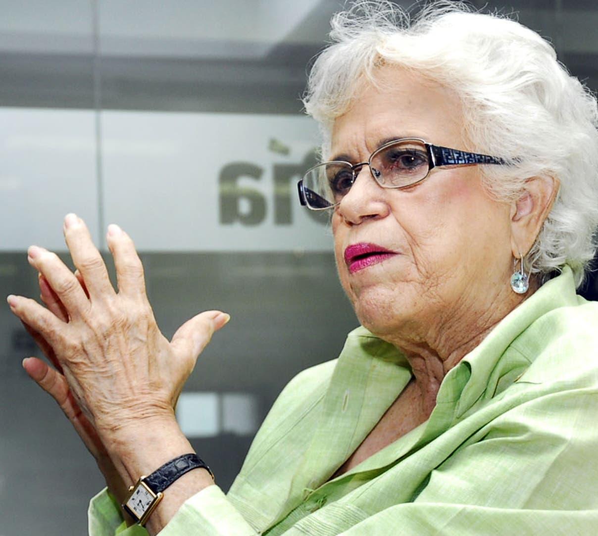 Milagros Ortiz Bosch pide a JCE atender reclamos para despejar dudas