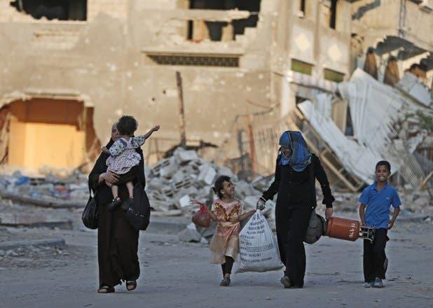 Palestinos e israelíes aceptan prorrogar 24 horas más el alto el fuego