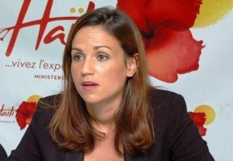 Stéphanie Balmier Villedrouin-ministra de turismo de Haití