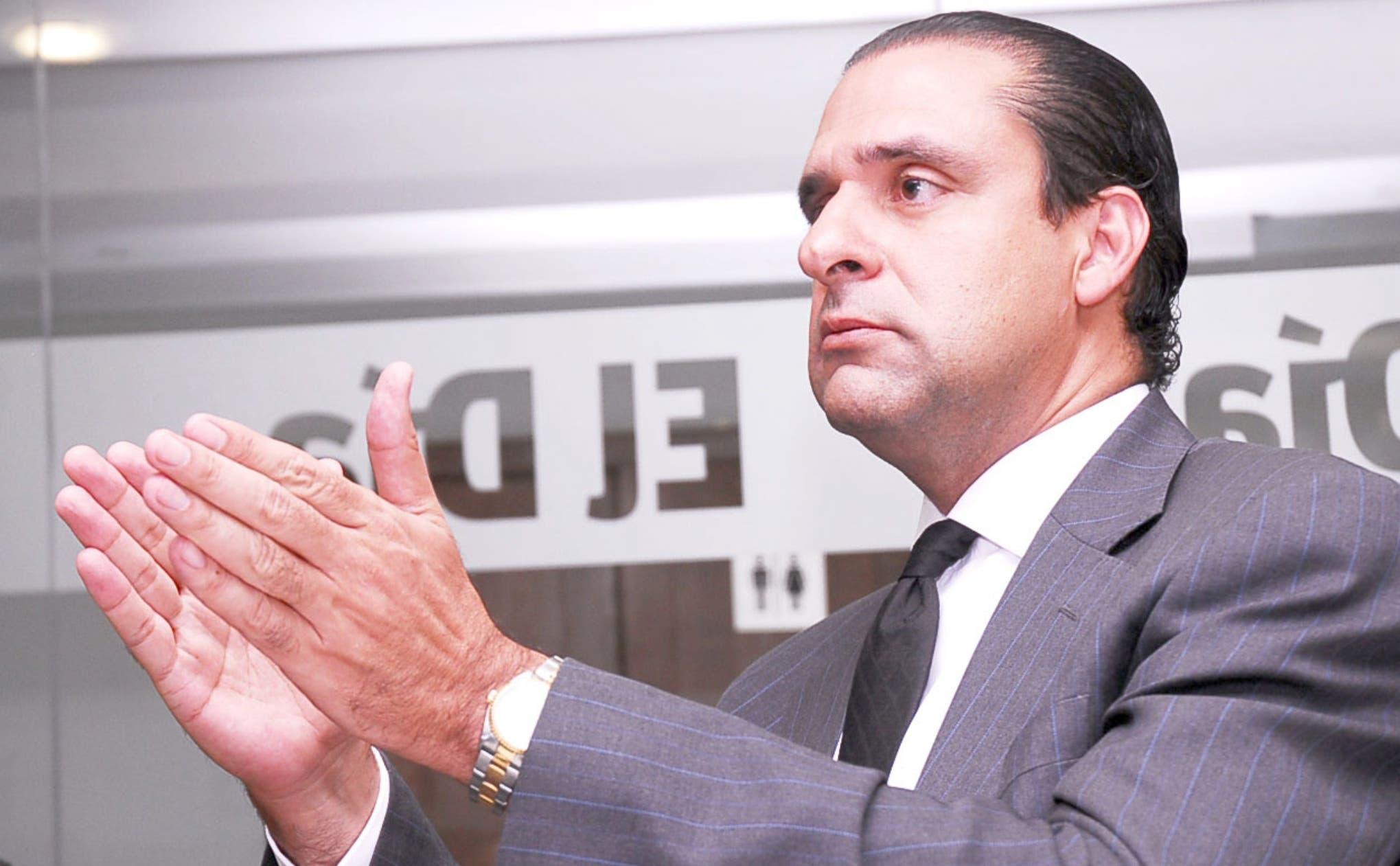 Servio Tulio Castaños Guzmán, vicepresidente de Finju.
