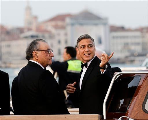 George Clooney, Ramzi Alamuddin