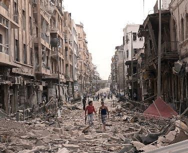 El uso de armas explosivas y los ataques indiscriminados contra áreas muy pobladas hace que los niños sean un cuarto de los muertos en Siria.