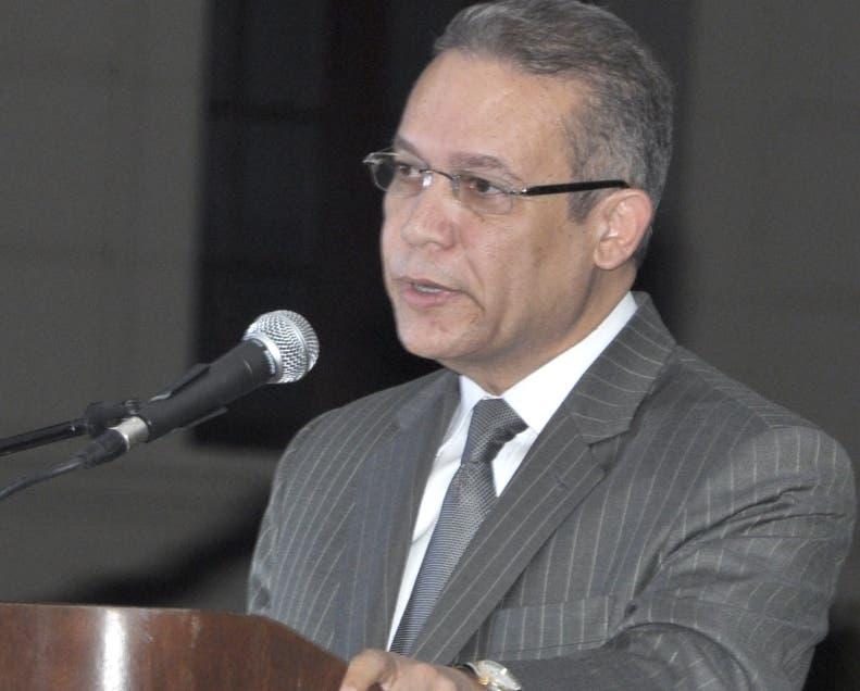 Rafael Núñez, vocero del expresidente Leonel Fernández.