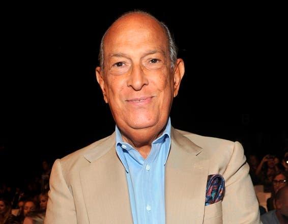 Oscar de la Renta. Foto de archivo.