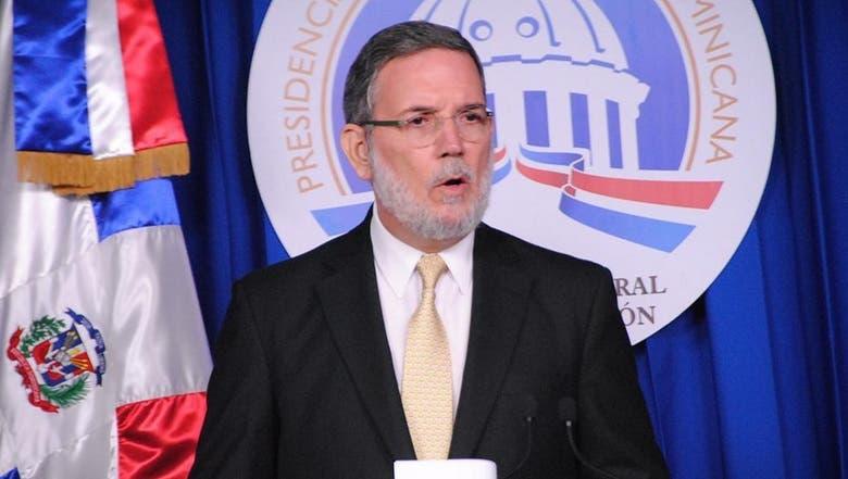Roberto Rodríguez  Marchena, vocero de la Presidencia de la República.