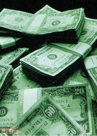 Dolares. El Nacional/ Archivo. FE.  27.06.2009